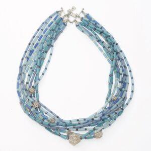 Necklace Unik BULB 11 Blue