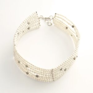 Necklace Mercure white