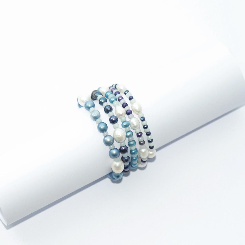 MT unik bracelet 5bleus 41020 - A