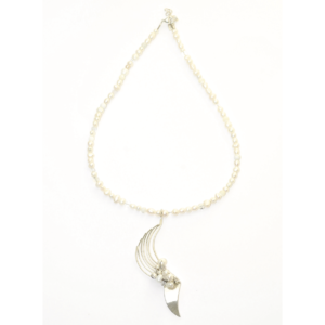 Collier AUDREY sign white