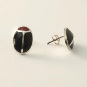 Earrings COX Black