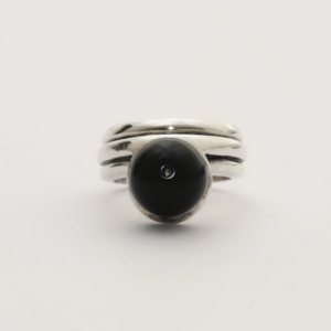 Ring JEREMY fish black 2