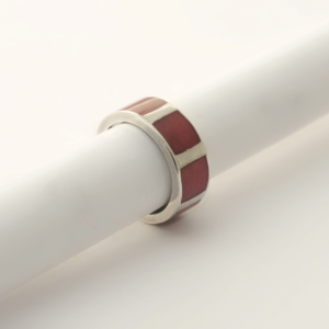 Ring RIVER anneau Red
