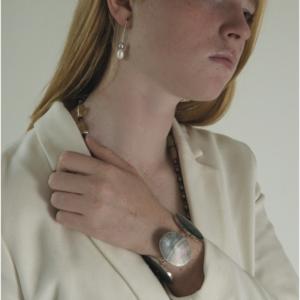 Armband RIVER Ovale parelmoer
