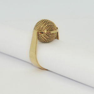 Ring AUDREY ball Tresse Gold