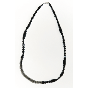 Long necklace CONE Unik Black