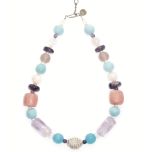 Unik AUDREY Globe pastel necklace