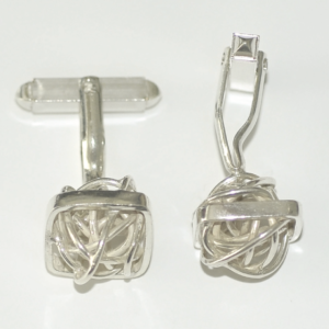 Cufflinks BULB in square